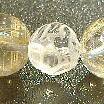 水晶 龍の浮かし彫り